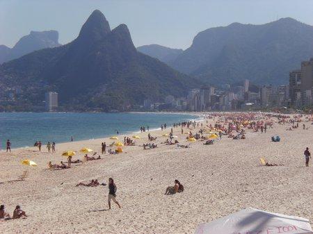 An der Copacabana wird ausgelost